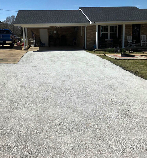 Asphalt base work in Kentucky